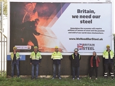 Steelworkers' call for fresh support for under-pressure industry