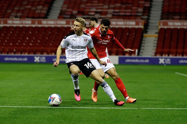 On-the-whistle report: Nottingham Forest 1  Rotherham United 1