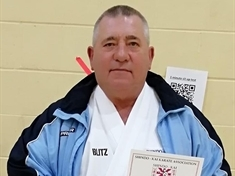 Karate instructor John Ball rewarded for decades of dedication