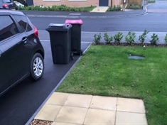 New house recycling bin charge angers retired nurse