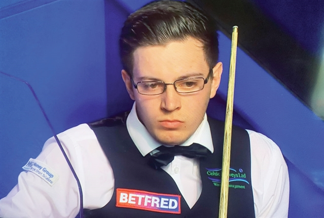 Easy progress in Scottish Open for Rotherham's Ashley Carty