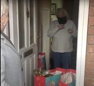 VIDEO: After 12 years with no gifts lonely pensioner receives surprise from villagers