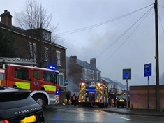 Tumble dryer believed to have started garage fire in Broom