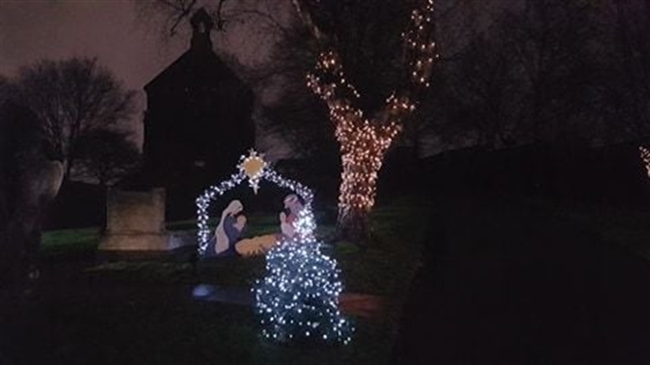 Dismay after vandals ruin Christmas display