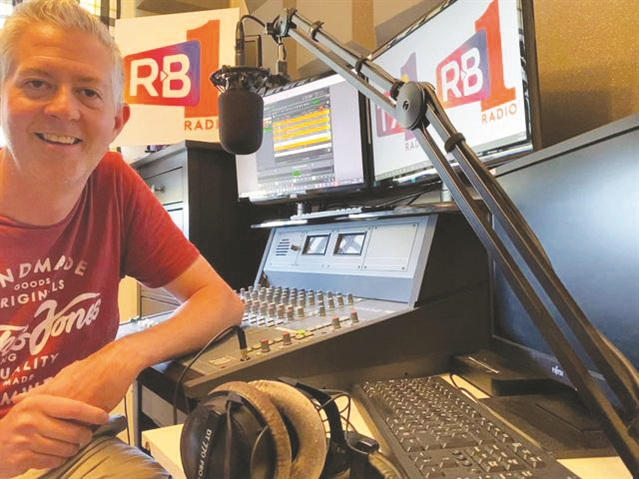 Why the airwaves rule for Stewart - RADIO DJ Stewart Nicholson