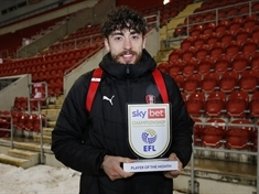 Rotherham United's Matt Crooks: Sky Bet Championship Player of the Month!