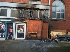 Arson attack at Mexborough gym