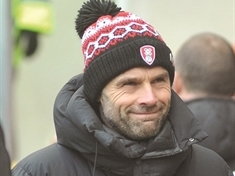 'Kitchen sink and the taps' ... Boss Paul Warne praises Rotherham United's attacking approach in defeat at Bournemouth