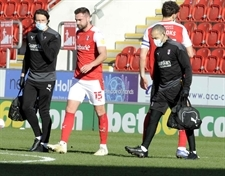 Two weeks, four weeks, six weeks ... Rotherham United wait on Clark Robertson scan verdict