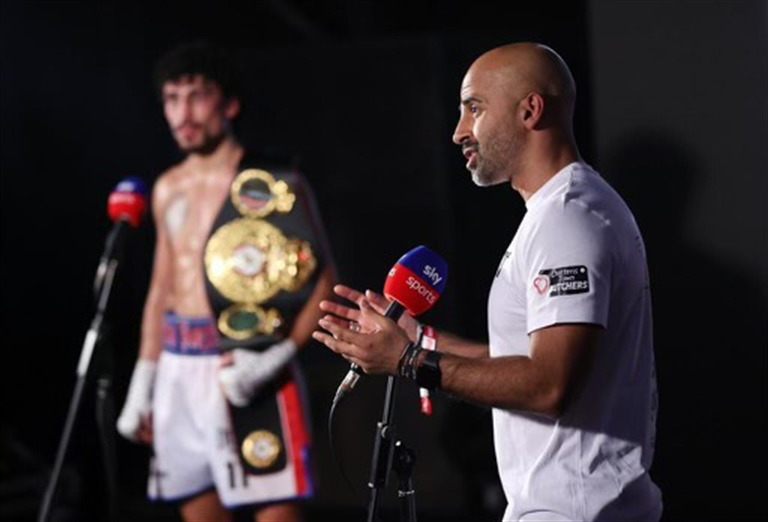 FIGHTING THE GOOD FIGHT:  Dave Coldwell on three decades in boxing and why Rotherham is still where his heart is