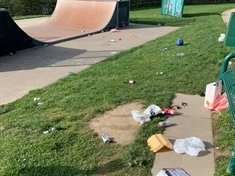 Park users condemned after leaving trail of litter