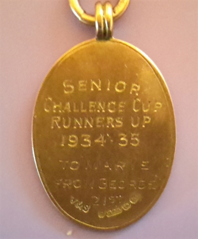 Local football historian looks to clear up old medal mystery