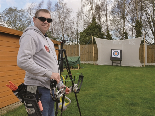 Shooting star ... how Phil Tranter lost his sight but then found a new passion in life through archery