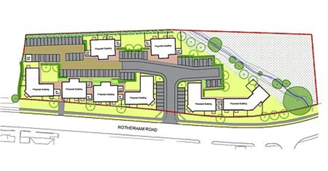 Plans Passed For 84 New Homes In Maltby