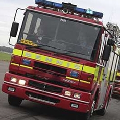Motorist freed by fire crews after crash