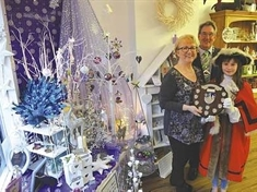 Shopkeepers spread Christmas cheer in Rotherham and Dinnington