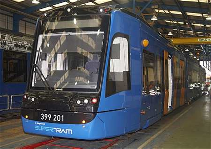 Pioneering tram train on track for Rotherham launch