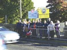 Fight for safe crossing outside Wales Primary continues