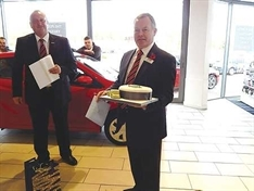 End of the road after 42 years for car salesman