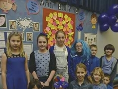 Turning blue to beat bullying in Rotherham