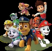 Paw Patrol stars at town's Christmas lights switch-on