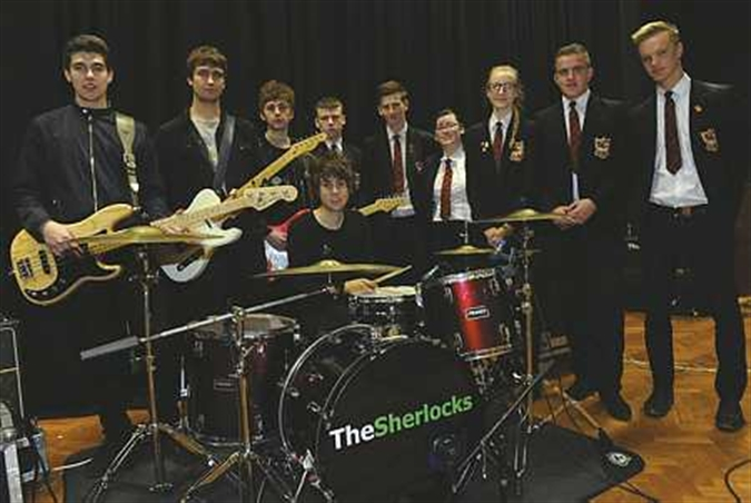 Band of brothers The Sherlocks go back to school