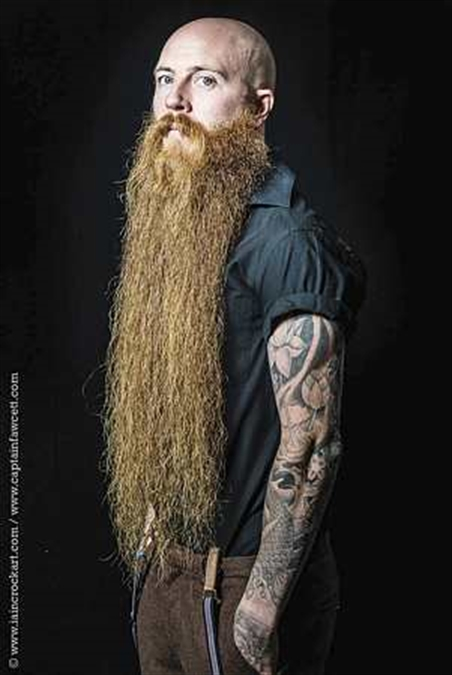 Beard man a whisker away from being world champ