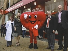 Can you help British Heart Foundation raise cash?