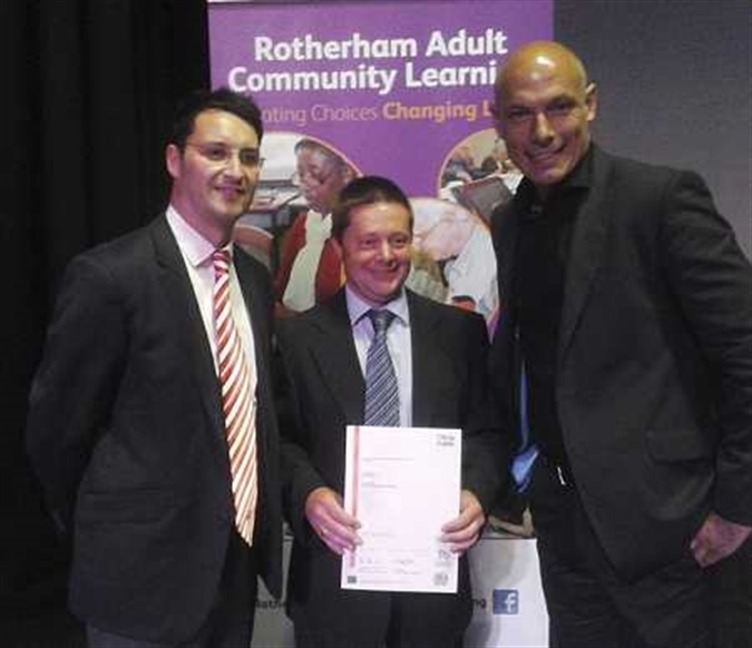 Adult learners' achievements marked in Rotherham Civic ceremony
