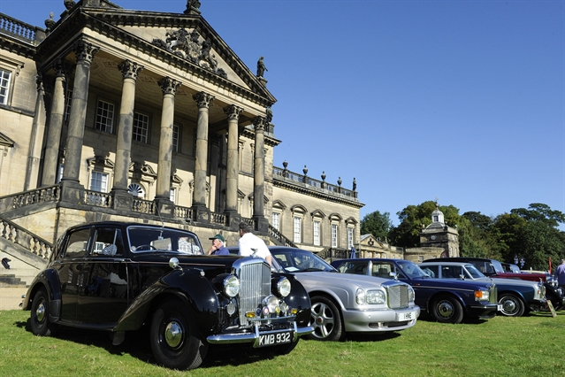 Wentworth Woodhouse Car Show
