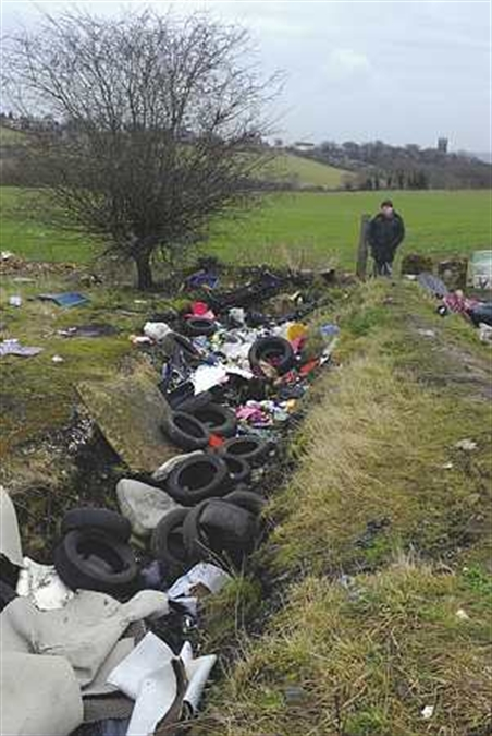 Council goes covert to beat fly-tippers