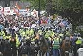 EDL marchers demand police chief Shaun Wright's resignation