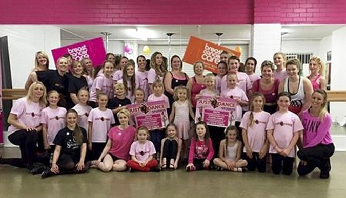 Tapping and dancing to help raise cancer charity cash