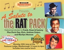 A Salute to the Rat Pack - Monday 30th June