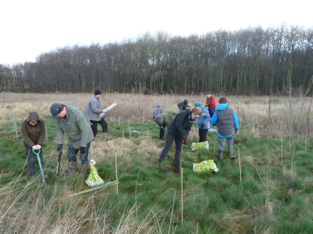 Digging in to help nature blossom at Wombwell