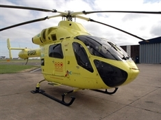 Girl airlifted to hospital after collision