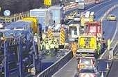 M1 at Rotherham reopens after accident